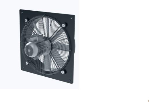 ATEX Axial wall fan
