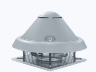 Centrifugal ATEX roof fan horizontal outlet