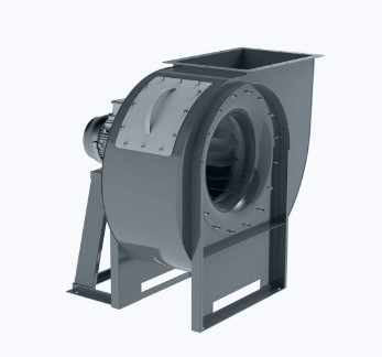 Centrifugal fan for low pressure with backward curved blades
