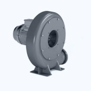 Compact centrifugal transport fan