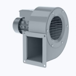Centrifugal ATEX fan with forward curved blades