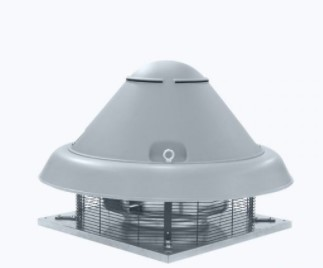 Centrifugal roof fan smoke exhaust horizontal outlet