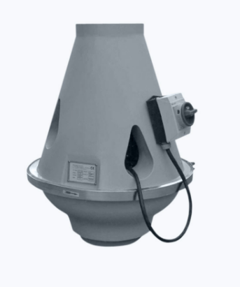 Plastic inline and roof fan