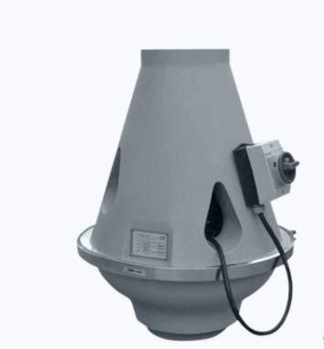 Plastic ATEX inline roof fan