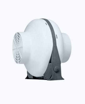 Plastic inline fan