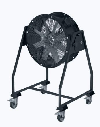 Mobile axial fan